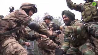 China & India hold joint counter-terrorism drills
