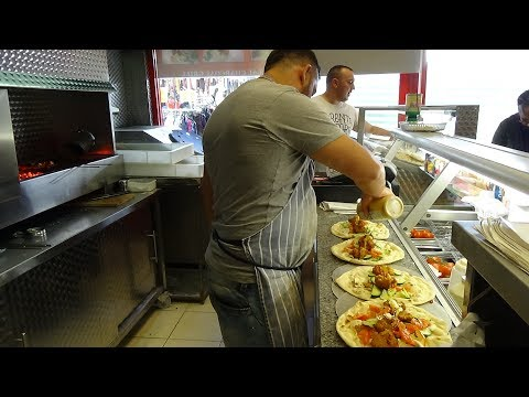 Thumbnail: At £2.50 is this the Cheapest Freshly made Falafel Naan Wrap in London? Middle Eastern Street Food.