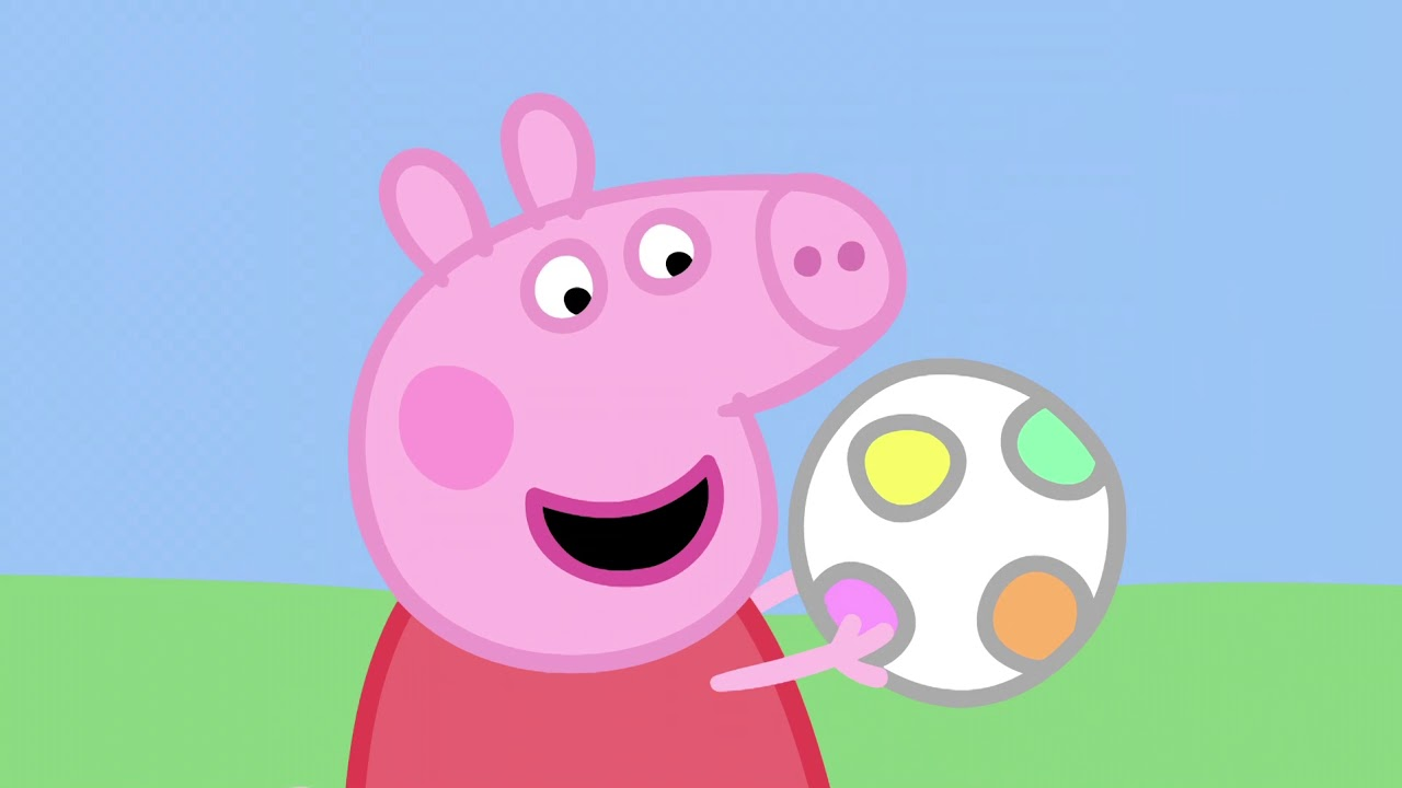 Download Peppa Pig Season 1 Episode 8 - Piggy in the Middle - Cartoons for Children