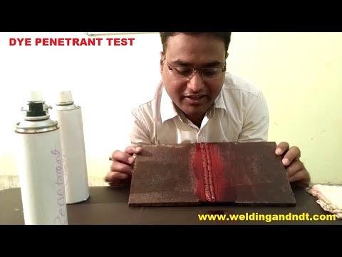 [Hindi] Dye Penetrant Test (DPT, LPI, LPT, PT) Theory & Practical