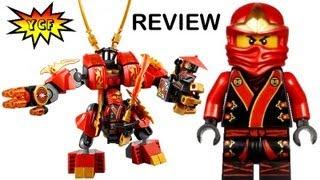 LEGO Ninjago 70500 Kai's Fire Mech 2013 Set Review 2013 - 2 Minifigures Kai & Stone Soldier
