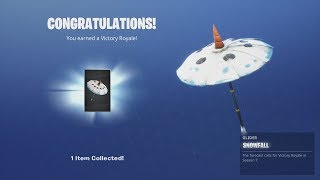 ICE KING -UNLOCKSMD NEW Season 7 Glider 'SNOWFALL' (Random Squad Victory Royale) Fortnite