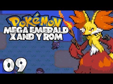 Pokemon Mega Emerald XY Edition - Episode 9 (Mt Pinatubo + First Commentary)