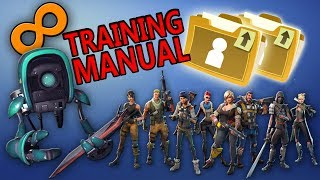 Effective Ways To Get Infinite Training Manual | Fortnite Save The World|