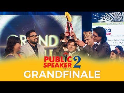 Public Speaker Nepal Season 2 GRAND FINALE Part 2