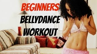 Absolute beginner's cardio bellydance workout - with music
