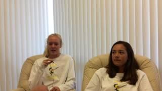 Amanda & Katie on Mental Toughness Training