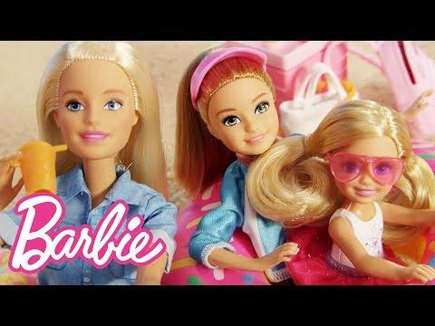 Barbie Solves a Mystery on the Beach!   Barbie