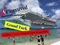 Carnival Horizon, Grand Turk and Amber Cove Dominican Republic