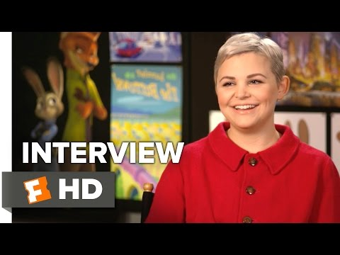 Zootopia Interview - Ginnifer Goodwin  (2016) - Animated Movie HD