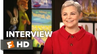 Zootopia Interview - Ginnifer Goodwin
