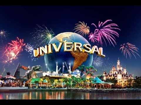 Universal Studios Fireworks And Light Show (2014) - Youtube