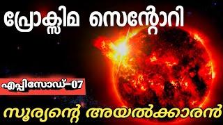 Proxima Centauri -closest star of sun |malayalam|