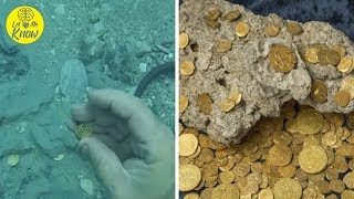 Divers Find $4.5 Million In Gold Coins From A Spanish Fleet That Sunk 300 Years Ago