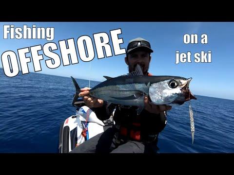 Jet Ski Fishing For Tuna OFFSHORE!