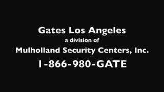 Mulholland Security Gates Los Angeles Testimony