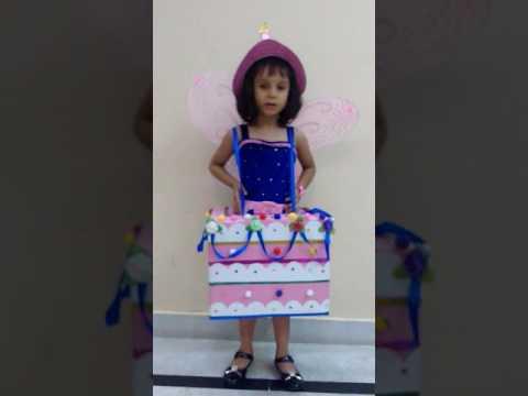 Arisha's Fancy dress competition- Theme Birthday