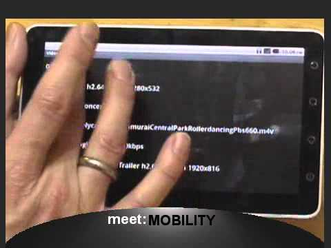 Viewsonic Viewpad 7 LIVE Review Part 3 of 4