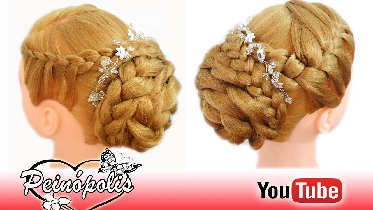Peinados faciles y rapidos para novias graduacion con - Peinados fiesta faciles ...