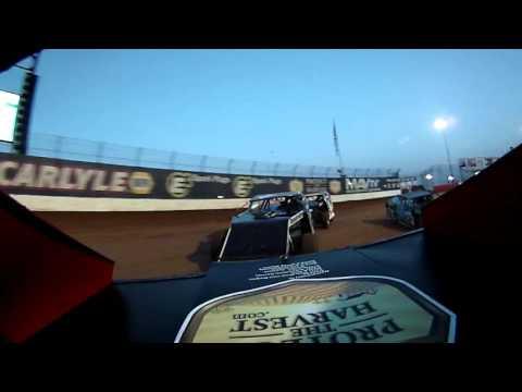 Jim Cihy in car 04232016 Lucas Oil Speedway