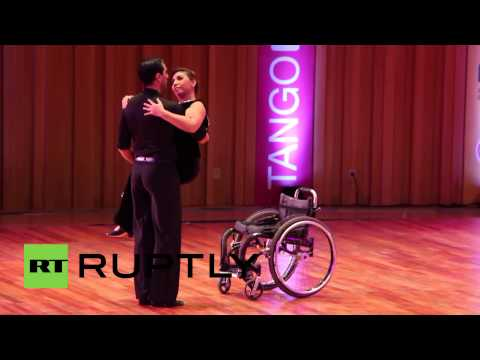 Argentina: Wheelchair user Gabriela Torres wows Tango World Championship crowd