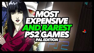Most Expensive And Rarest PS2 PAL Games