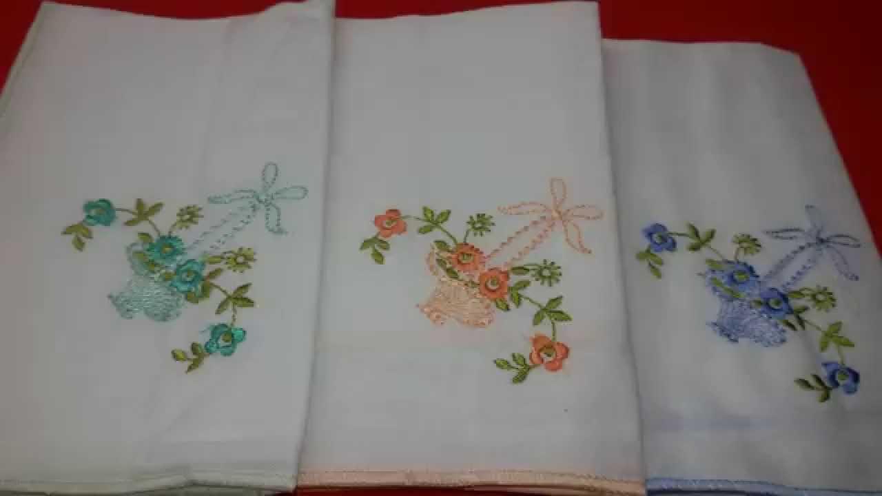 Beautiful Hanky Embroidery Idea Youtube