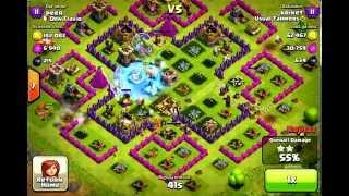 Clash of Clans - Valkyries 3 Raid TH9 3 Starred thumbnail