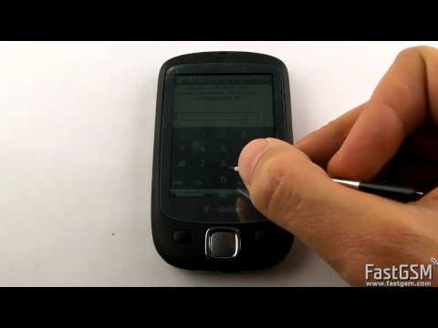 Unlocking HTC Touch By Factory Unlock Code Guide