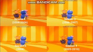 Download The Backyardigans Theme Song Seasons 1-4 Comparison Mp3