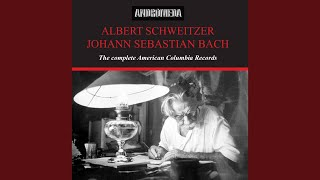 Provided to YouTube by NAXOS of America Prelude · Albert Schweitzer...