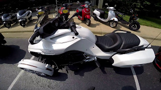 Can-Am Spyder F3-T Demo Ride