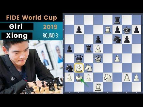 Top 16! - Giri vs Xiong | Fide World Cup 2019