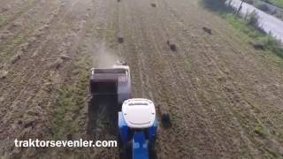 Yonca balyalama - New Holland 55 56 + Gallignani 5690 S