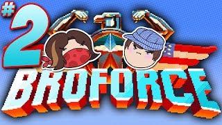 Broforce: Rescue Me! - PART 2 - Steam Train