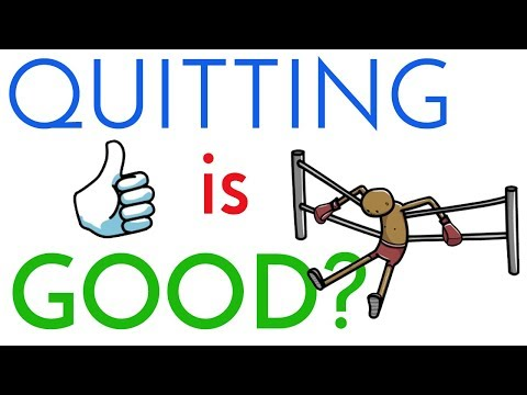 Knowing When to Quit vs When to Push Forward