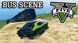 GTA V Fast and Furious 7 Bus Scene