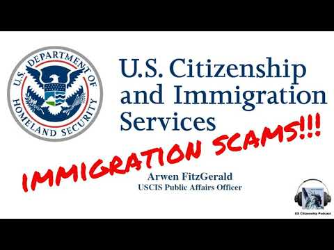 USCIS And Immigration Scams With Officer Arwen FitzGerald