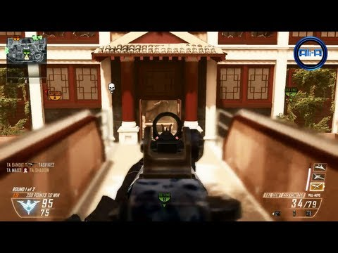 """""""MIRAGE"""" Gameplay - Black Ops 2 Multiplayer Map DLC - New Revolution Map Pack COD BO2"""