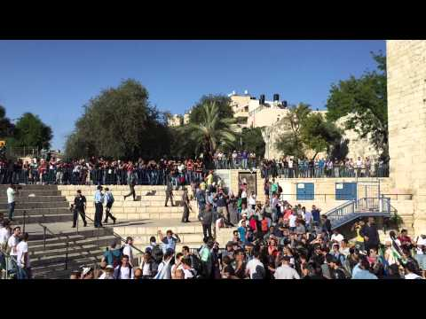 Israeli mob chants anti-Palestinian slogans in occupied Jerusalem
