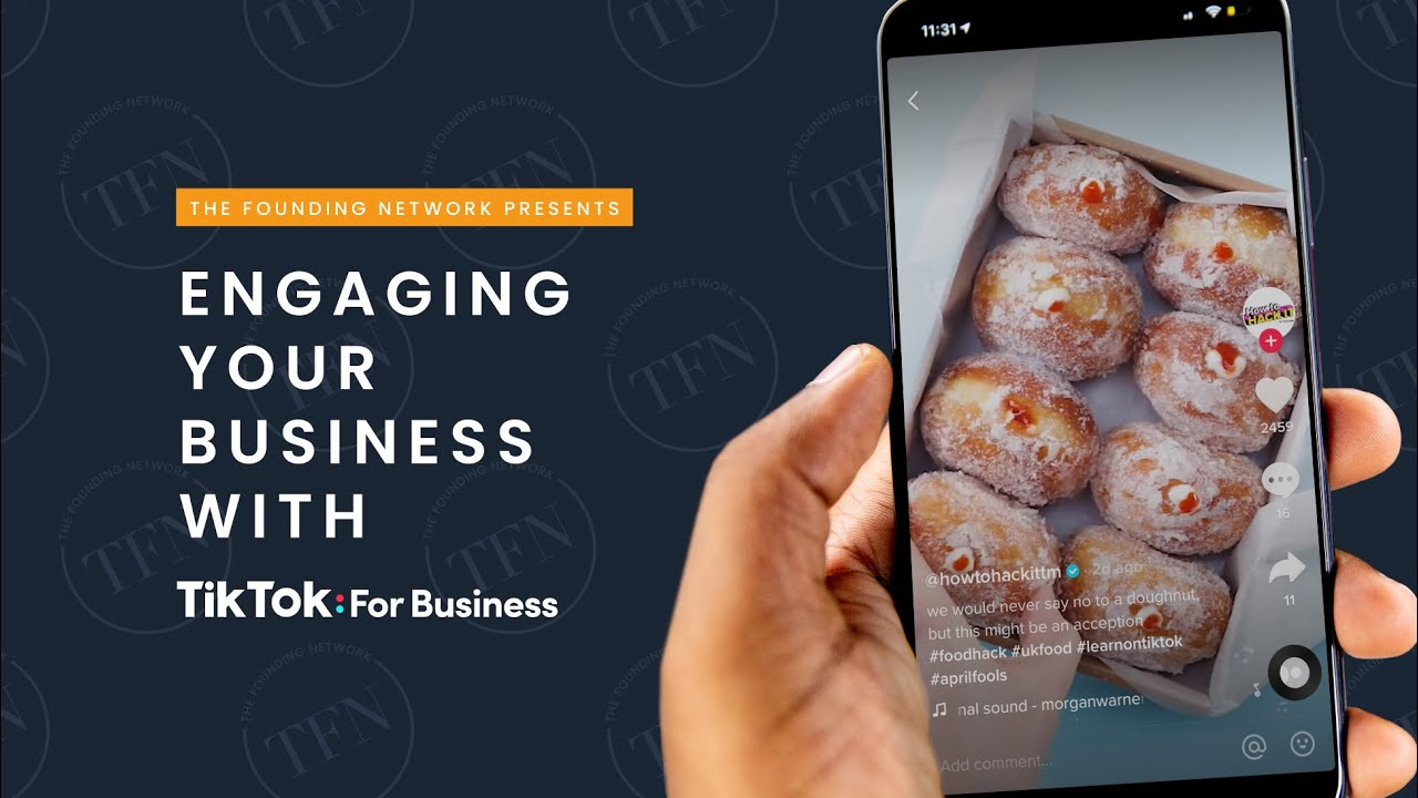 Engaging your Business with TikTok