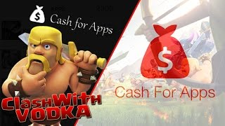 Best Way To Earn Free Gems | Cash For Apps | Clash of Clans