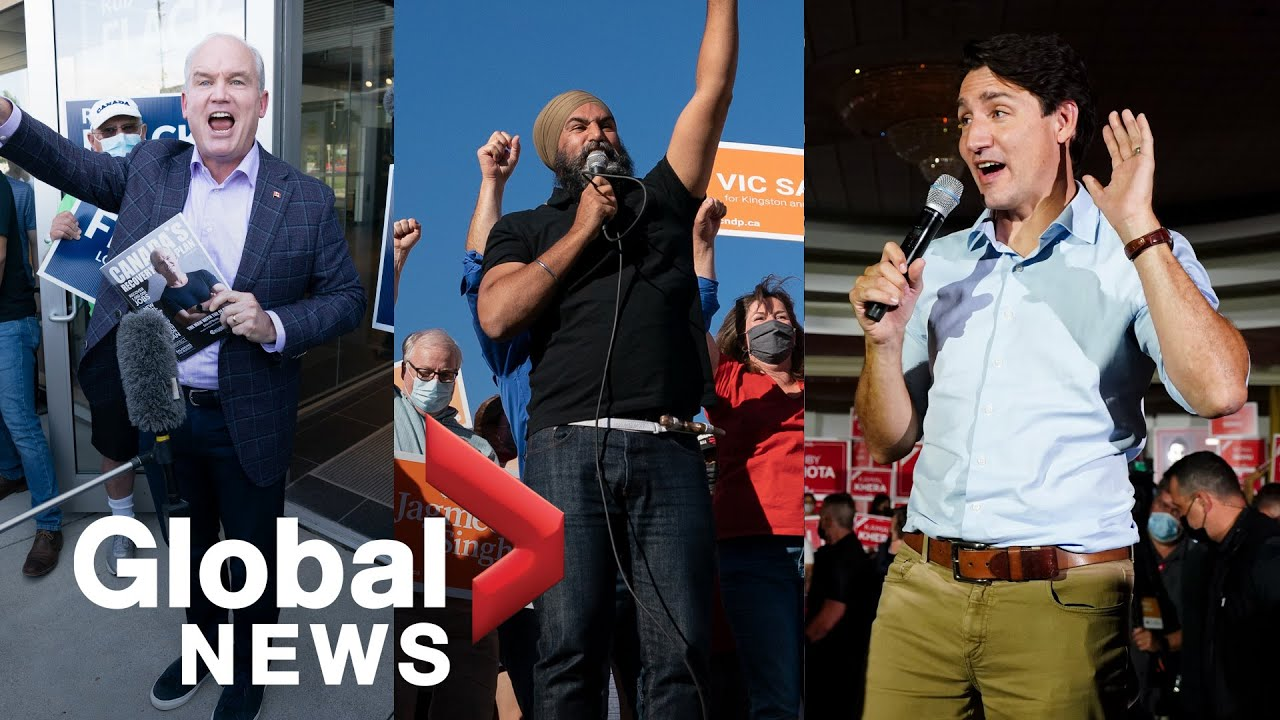 Download Canada election: Liberals face voter apathy, Conservatives avoid Kenney, NDP's Quebec strategy