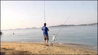 Ψάρεμα στην Ουρανουπολη Halkidiki