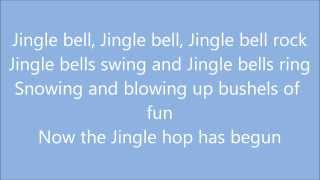 Jingle Bell Rock - Brenda Lee (Lyrics)