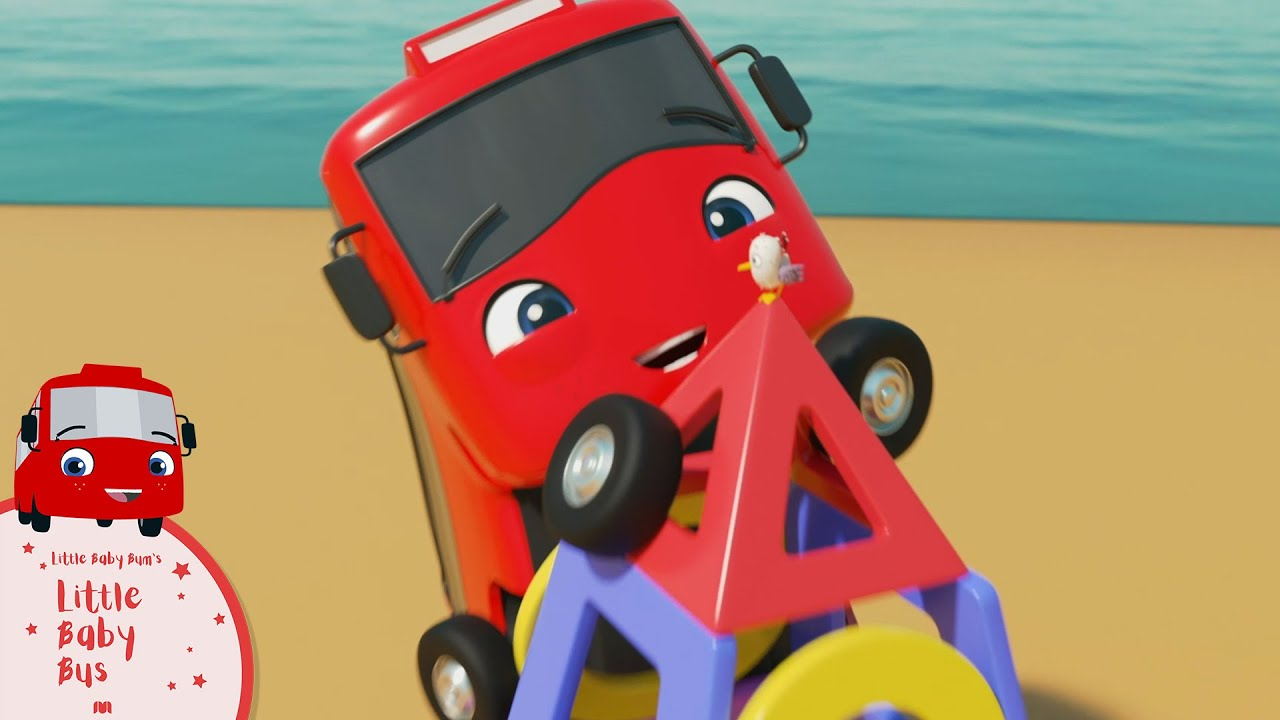 Buster and Digger Find Shapes   Little Baby Bus   Kids Cartoons   Children's Stories