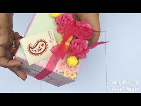 Raksha bandhan special explosion box | handmade