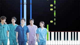 Gambar cover Mido And Falasol - Me to You, You to Me (너에게 난 나에게 넌) Hospital Playlist OST (Piano Tutorial)