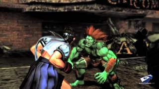 Street Fighter X Tekken (Vita) - Captivate 2012: New Vita Challengers Trailer