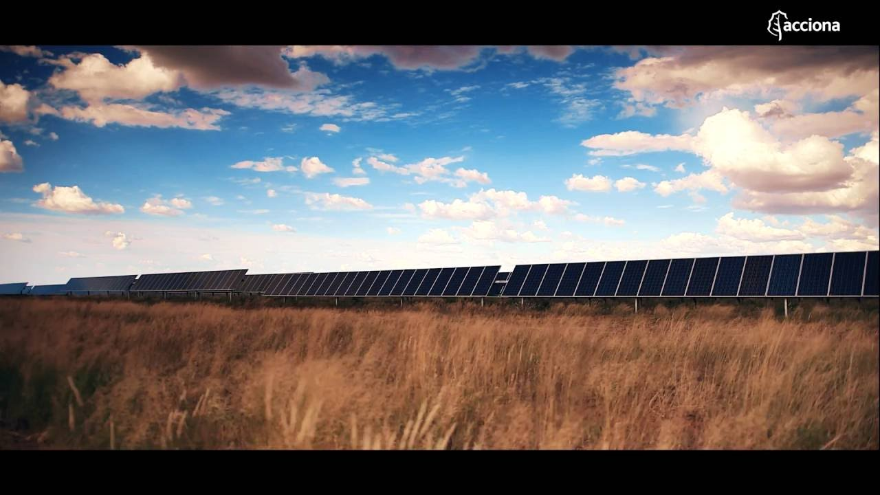Sishen solar photovoltaic plant in South Africa
